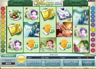 Wealth Spa slot game online review