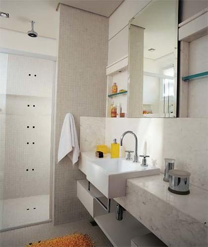 banheiros pequenos dicas