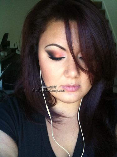 Fall Inspired Arabic Smoky Eyes