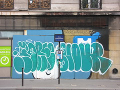 Horf - Hour (tofz4u) Tags: streetart paris graffiti tag hour artderue 75008 explored horfe horphe