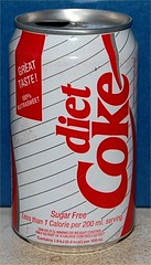 Coca-Cola Diet first series UK
