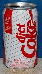 Coca-Cola Diet first series UK