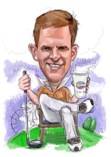 digital caricature for P&G - Alexander Dony - 2 small