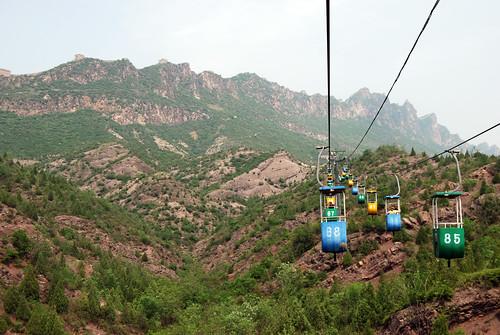 v26 - Up the Sīmǎtái Cable Car