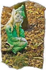 Duende (Anvica) Tags: autumn gnome sony elf fairy otoño duende leprechaun a350 retofez101221 retofez111101
