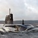 HMS Astute Arrives at Faslane for the First Time