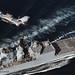 HMS Cumberland Cuts Across the Bows of a Somalian Pirate Vessel