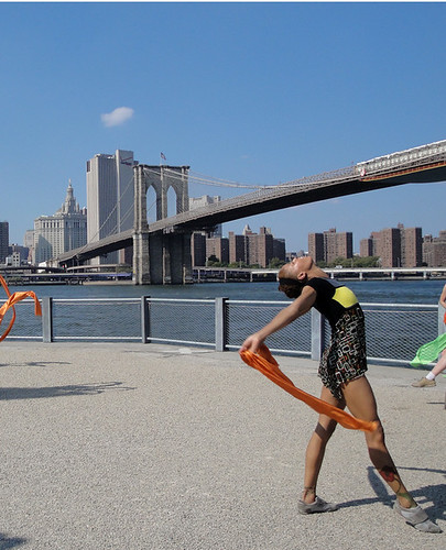 Dancer on Pier 1
