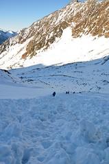 tztaler Alpen [14] (Flowtopia) Tags: sterreich frieden berge alpen tztal hochtour stille bergsteigen wildspitze schneeundeis gletschertour similaun tztaleralpen nichtsalsschneeunddasimsommer