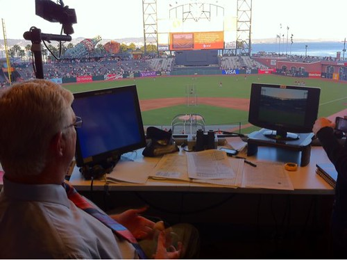 Giants Broadcasting Booth