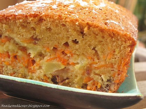 Cake Recipes Using Loaf Tin: Nasi Lemak Lover: Carrot Cake