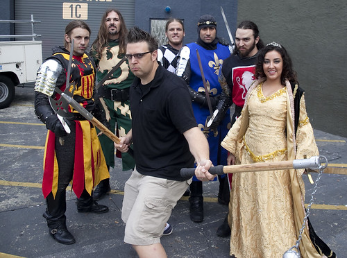Medieval Times Knights (and me)