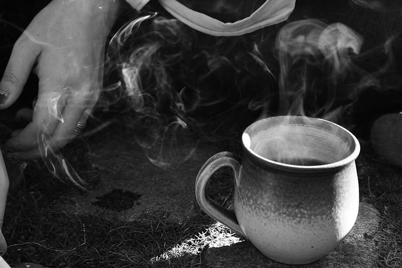 Rök och ånga och te