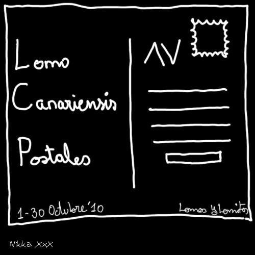 Expo Lomo Canariensis Postales