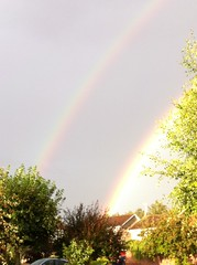 Double rainbow all the way! Oh my god! So intense! Etc...