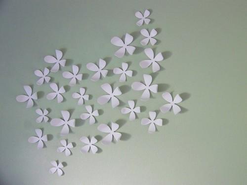 Gyduvo Umbra Wall Flowers