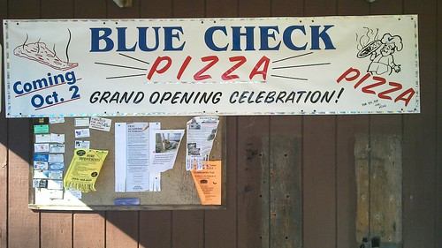 Blue Check Pizza