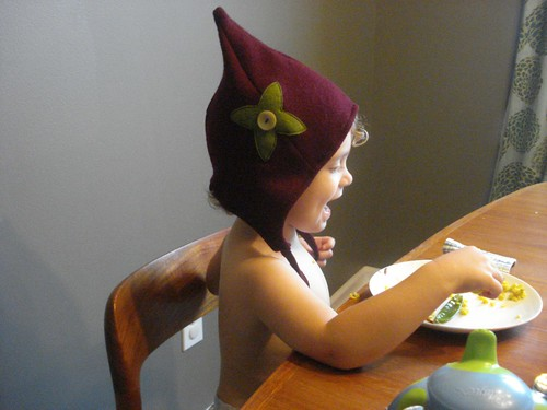 Elf Hat Sewing Pattern Images - origami instructions easy for kids