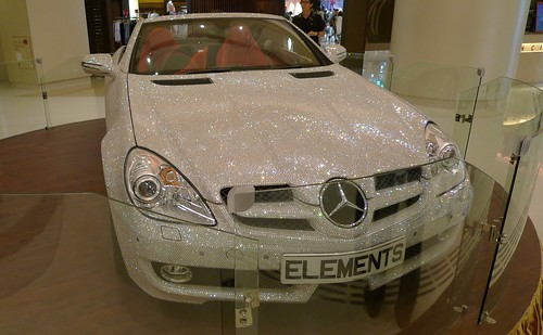 Crystal-Studded Mercedes-Benz
