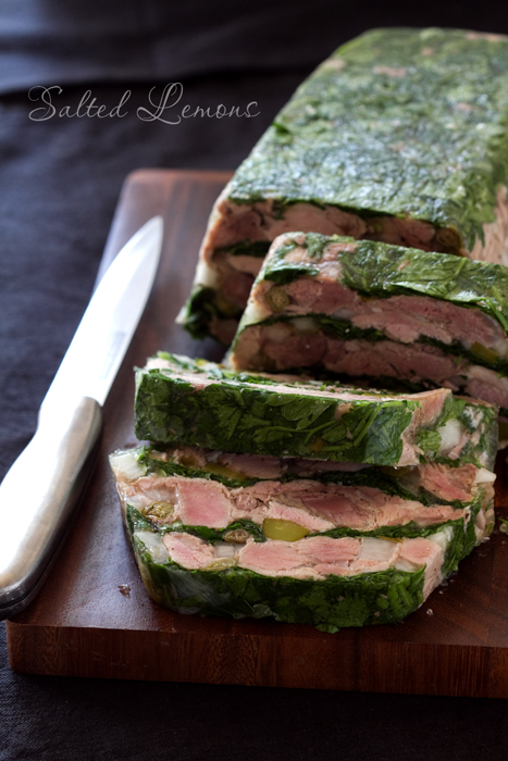 Ham & Parsley Terrine