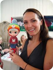 Fizz met Gina Garan at BlytheConUK