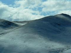 Snow covered hills near Ulaan Baatar (jayselley) Tags: asia september mongolia exodus 2010 mongol mongolianadventure