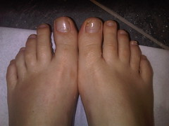 pedicure after