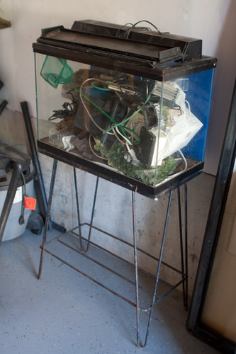 REPTILE TANK - FISH SUPPLIES-STAND - $10