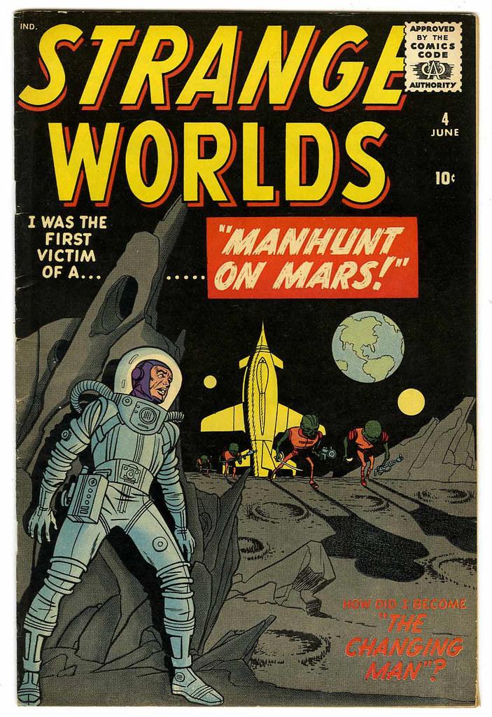 Strange Worlds #4 (Atlas Comics)