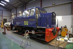 Sentinel 10175 4w, MSC DH16 Williton Depot (Amys-pics) Tags: west railway somerset msc sentinel taunton minehead 4w manchestershipcanal williton 10175 dh16