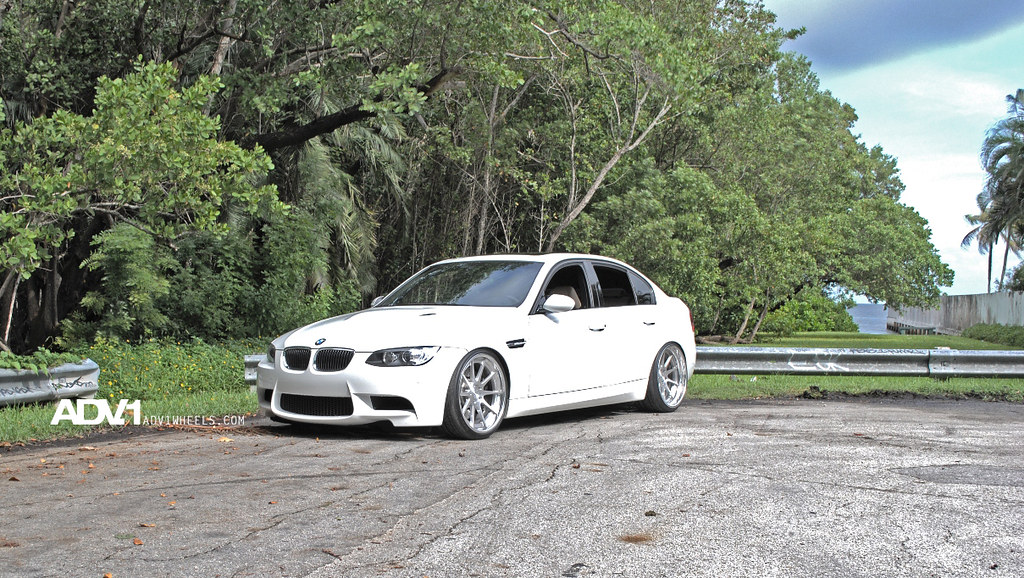 BMW e90 m3 on the new ADV10 Track Spec forged wheels by ADV.1