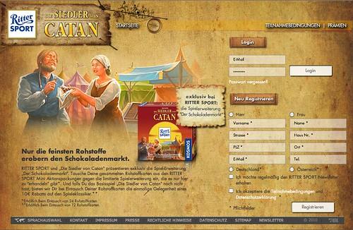 RITTER SPORT Edition Siedler von Catan
