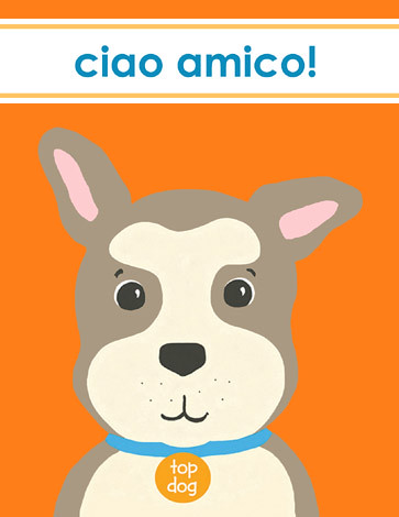 Ciao Top Dog card