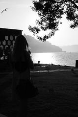 strolling around... (...storrao...) Tags: sunset bw portugal silhouette rio river nikon porto douro maree d90 vngaia storrao sofiatorro nikond90bw mareevisitingporto strollingaroudbytheriverside walkingaroundcitycentre