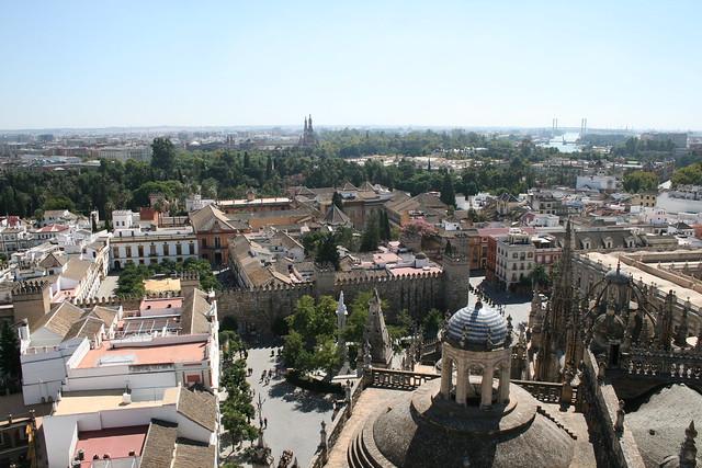 Vista de Los Alcázares