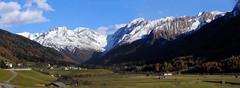Pfitschtal - Panorama im Sptherbst (mikiitaly) Tags: schnee italy herbst wiesen himmel berge wald sdtirol altoadige pfitschtal wolkenwiesenpfitschtulfer