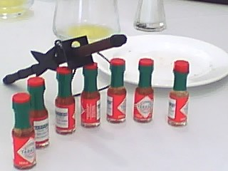 Tabasco with Sword