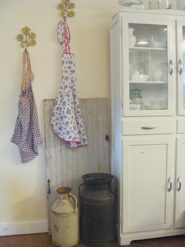 Aprons on the wall