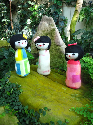 Kokeshi doll plush 7