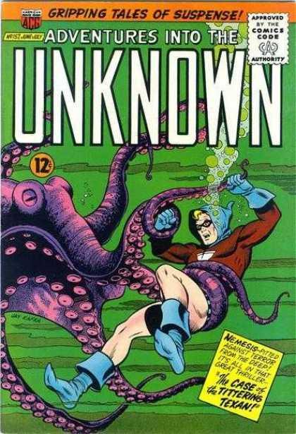 Adventures Into The Unknown #157