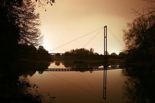 Bute park bridge