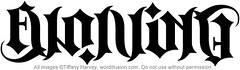 """Evolving"" Ambigram"