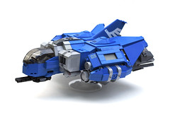 Tactical Assault Scout (1) (Chase Lewis [Vid]) Tags: ship lego space military scout legos heavy gunship moc foitsop