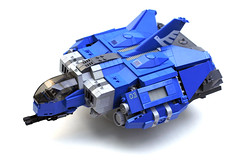 Tactical Assault Scout (3) (Chase Lewis [Vid]) Tags: ship lego space military scout heavy gunship moc germanian