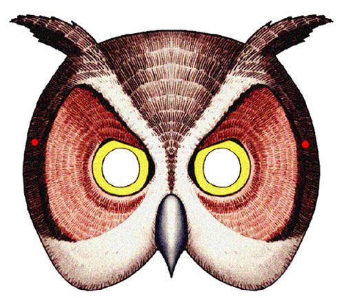 Superb image with regard to printable owl mask