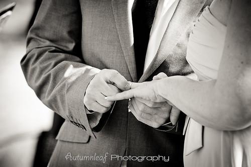 Angela&Jason's Wedding - Exchanging the ring