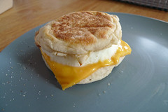 English Muffin with Egg and Cheese - Michele's...