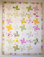Nicey Jane Quilt (Little Bluebell) Tags: quilt stipple heatherbailey freemotionquilting niceyjane