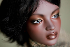 (aEthEr hEad) Tags: ball asian doll eid tan sd bjd ashanti commission abjd ebony tanned aesthetics jointed faceup iplehouse zephiroth