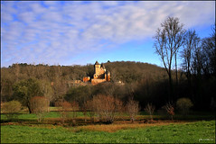 Chteau de Laussel (Pemisera) Tags: castle dordogne medieval fortaleza chteau castillo sarlat middleage castell beynac moyenge aquitaine leseyzies commarque francelandscapes aquitnia dordonya laussel chteaudelaussel rocchecastelli rocchefariecastellicastleslighthosesbelltowers pemisera fortesse
